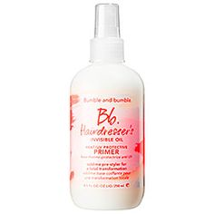 Sephora: Bumble and bumble : Hairdresser's Invisible Oil Primer : hairspray-hair-styling-products