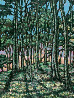 LINE BY LINE // Greenville artist Mark Mulfinger uses varied media as visual poetry
