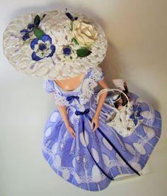 Baroque & Vintage Silkstone Repro Barbie Doll Dress Outfit Clothes OOAK handmade #handmadevintagerepro
