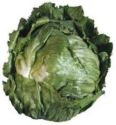 Grow Iceberg lettuce - bottom of article has a few good tips on harvesting