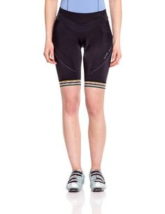 Gore Bike Wear Women's Power 3.0 Lady Short+ Tights, Black, Large Gore Bike Wear $79.36