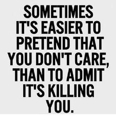 sometimes. . .