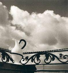 Herbert List Pitcher on Balustrade Hamburg, 1932 Vintage gelatin siver print, printed 1939 Annotations on verso Herbert List, Jean Arp, Modern Photography, Street Photography, Vintage Photography, Harper's Bazaar, Alfred Stieglitz, Max Ernst, Magic Realism