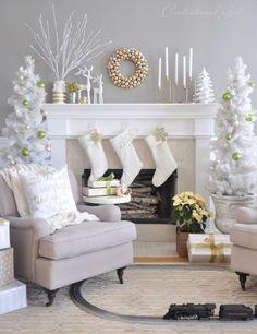 Mejores 75 Imagenes De Tendencias Navidad 2018 En Pinterest En 2018 - Manualidades-y-decoraciones-para-el-hogar
