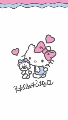 Hello Kitty Photos, Hello Kitty Baby, Hello Kitty Wallpaper, Wall Papers, Sanrio, Iphone Wallpaper, Diy And Crafts, Sewing Patterns, Doodles