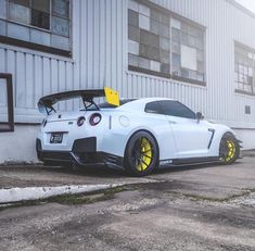 Bad-ass Nissan GTR