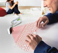 Amazing!!! This keychain functions as a Bluetooth keyboard! Click the picture for other cool gadgets :) #geeky