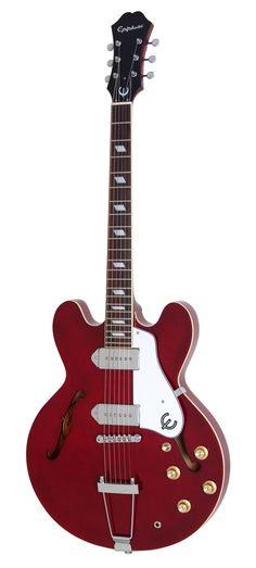 Epiphone Casino Hollowbody Electric Guitar - Cherry #epiphone #guitar