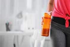 A protein shake is a quick and filling breakfast option, and will help you control the calories. Photo / Getty Images