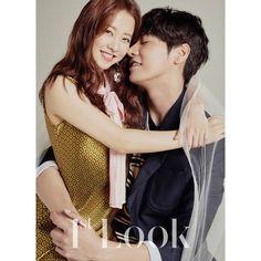 Park Bo Young and Kim Young Kwang in Look Vol. 160 Look 1 Korean Actresses, Asian Actors, Korean Actors, Actors & Actresses, Kim Young Kwang, Young Kim, Young Young, Park Bo Young, My Shy Boss