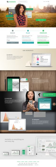 Evernote - The workspace for your life's work  https://evernote.com/
