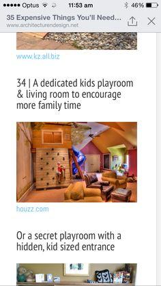 Fun kids play room