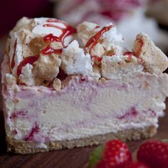Celebrating National Cheesecake Day with a whole Week. So here's a..... GIVE AWAY CONTEST  FOLLOW US and RE-PIN by 12:00pm 31 July 2015 (FRIDAY) to win a free Eton Mess with free delivery in Mainland UK Will be delivered Saturday 1 August 2015. *must follow and re-pin to qualify*  Eton Mess Strawberry Cheesecake - English Cheesecake Company