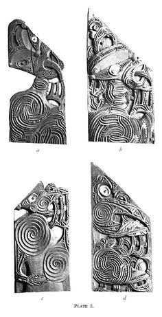 Journal of the Polynesian Society: Evolution Of Certain Maori Carving Patterns, By Gilbert Archey, P Polynesian People, Maori Patterns, Maori Designs, Maori Art, Wood Carving Patterns, Kiwiana, Wood Sculpture, Fashion Books, British Museum