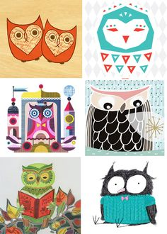 free printable Owl Lover Calendar 2013 – free download