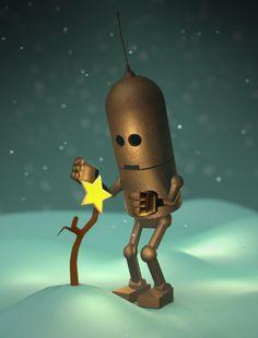 les petits Robots de Matt Dixon