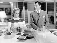 Still of Robert Young and Ann Sothern in Lady Be Good (1941) http://www.movpins.com/dHQwMDMzODAz/lady-be-good-(1941)/still-509718528