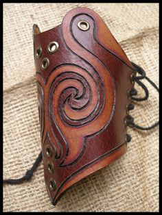 Tribal bracer by morgenland.deviantart.com on @DeviantArt