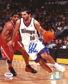 5a3ee558a Peja Stojakovic Autographed 8x10 Photo - PSA DNA  SportsMemorabilia   SacramentoKings