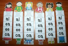 "FREE packet with activities revolving around the rule ""When two vowels go walking the first one does the talking."" vowel, When Two Vowels Go Walking Activities Phonics Reading, Teaching Phonics, Kindergarten Reading, Teaching Reading, Guided Reading, Teaching Resources, Reading Help, Reading Comprehension, Teaching Ideas"