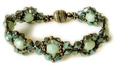 Linda's Tweaked Jeweled Bracelet