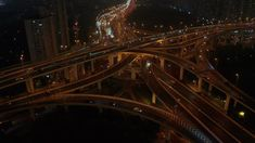 Ad: Rising shot shot the huge spectacular elevated highway and roads, bridges, traffic in Shanghai at night, transportation and infrastructure development in urban China Global Stock Market, Highway Road, Global Stocks, Hd Video, Shanghai, Bridges, Roads, Stock Footage, Diorama