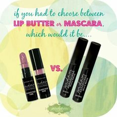 Which is impossible to do without: JE Lip Butter or JE Mascara? It's a hard choice, huh?! Thank goodness you don't ever have to really choose ;)