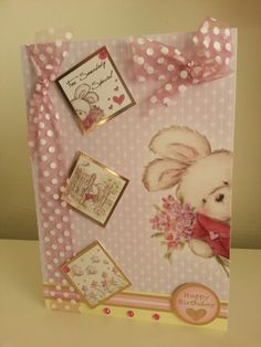 I made this card from hunkydory