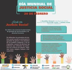 Infografía   Día mundial de la justicia social - UDG TV Global Thinking, Spanish Classroom, Social Justice, Identity, Infographic, The Unit, Tv, Diversity, Ideas
