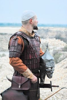 Eastern, this would be great SCA armor