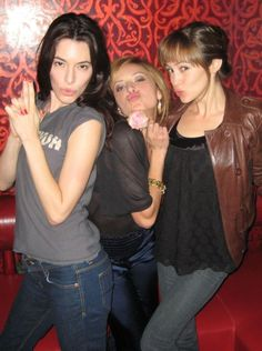 jaime murray, christine lakin and autumn reeser