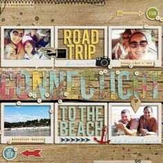 road trip scrapbook layout - Yahoo Search Results