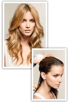 How to Get Beachy Waves Step 3 - How to Style Long Hair - Elle