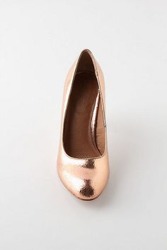 Crackled Copper Heels - Anthropologie.com
