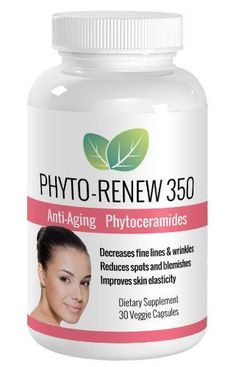 Phyto-Renew 350 Anti Aging Skin Care Supplement – Ultra Potent Phytoceramides Boost Collagen Production, Reduce Fine Lines and Wrinkles, Improve Skin Elasticity – Better and Safer than Botox with No Painful Injections – All Natural Skin Care Turns Back the Clock and Restores Youthful Beauty! >>> To view further, visit now : SkinCare for wrinkles
