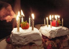 Happy Healthy Birthday Cake