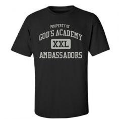 God's Academy - Dallas, TX   Men's T-Shirts Start at $21.97