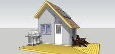 Randy Farnsworth's 8×12 Tiny House Design