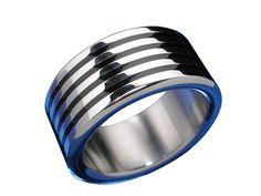 Stainless Steel 4 Black Lines Ring – Butterfly Jewellery Butterfly Jewelry, Body Jewellery, Stainless Steel Jewelry, Sterling Silver Jewelry, Women Jewelry, Wedding Rings, Engagement Rings, Black, Enagement Rings