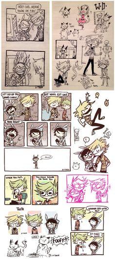 Doodles n' Comix - 9 by Z-T00N.deviantart.com on @DeviantArt