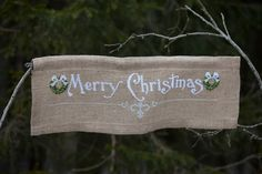 Cross stitch pattern CHRISTMAS BANNER by anetteeriksson on Etsy