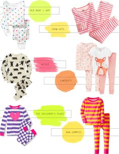 A Lovely Lark: My Favorite Sources for Cute + Classic Jammies
