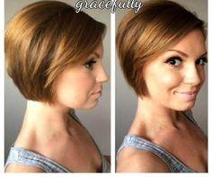 Kurze Frisuren für feines Haar-17