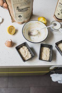 lemon cakes with coconut flour