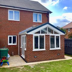 Lightweight, highly insulated, solid roof home extension built with premium quality products