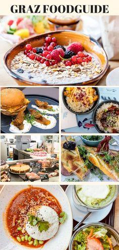 Graz hat kulinarisch eine ganze Menge zu bieten. In meinem Foodguide findest du alles vom Brunchen, Mittagessen bis hin zum Dinner. Graz ist wahrlich eine Genusshauptstadt. #graz #restaurant #foodguide #genusshauptstadt Beste Burger, Restaurant, Pasta Salad, Dinner, Ethnic Recipes, Classy, Food, Travel, Graz