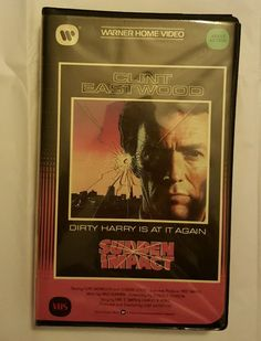 Sudden Impact (VHS Big Box Vintage Clamshell) Collectors in DVDs & Movies, VHS Tapes | eBay Christmas in July Shopping