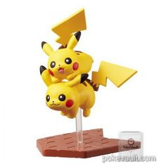 Pokemon Center 2017 Pikachu Parade Series Pikachu Figure (Version #2)