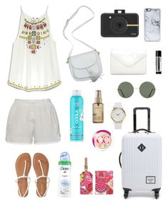 """Trip in Asean!"" by elio-t on Polyvore featuring Ally Fashion, Aéropostale, INC International Concepts, Herschel Supply Co., Zero Gravity, Neiman Marcus, COOLA Suncare, CC, L'Oréal Paris and Aesop"
