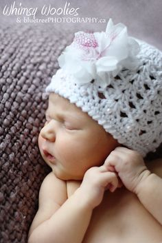 PATTERN  Angel Cake Crochet hat with Chiffon by whimsywoolies, 3.99